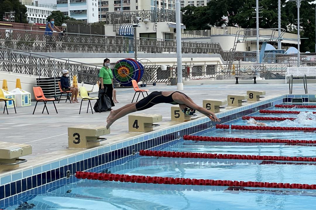 2021游泳測試