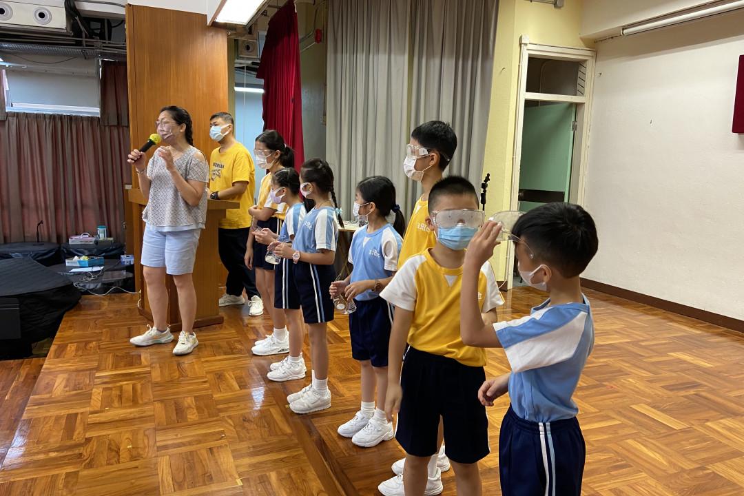 香港盲人體育總會講座